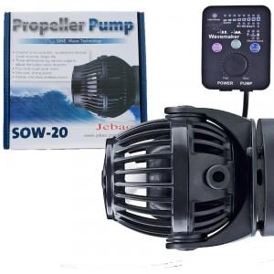 Jebao SOW-4 szabályozható áramoltató szinkronizálható vezérlővel (4000 l/h)