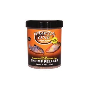 Omega One Shrimp Pellets garnélás granulátum haltáp nagytestű halaknak 127 g