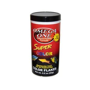 Omega One Super Color Flakes színélénkítő lemezes haltáp 62 g