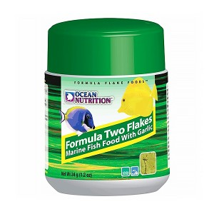 Ocean Nutrition Formula Two Flakes with garlic fokhagymás lemezes haleledel