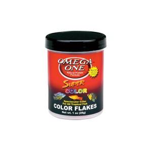 Omega One Super Color Flakes színélénkítő lemezes haltáp 28 g