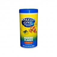 Omega One Marine Flakes lemezes haltáp fokhagyma kivonattal 62 g